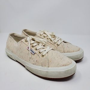 Superga 2750 Speckle Low Top Sneaker Size 8